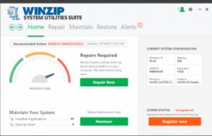 WinZip System Utilities Suite 3.14.1.6 Crack + License key Free Download 2021