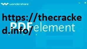Wondershare PDFelement 7.3.4.4627 Crack