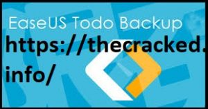EaseUS Todo Backup 12 Crack