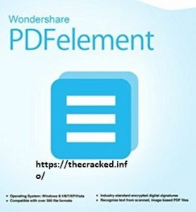 Wondershare PDFelement Pro 7.6.0 Crack