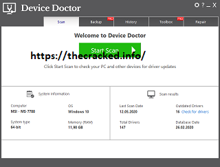 Device Doctor Pro 5.0.401 Crack
